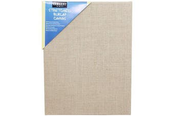 Sargent Art 90-2027 Stretched Burlap Canvas, 11 x 14