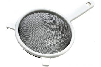 (15cm , White) - Chef Craft 21389 Mesh Strainer Stainless Steel 15.2cm
