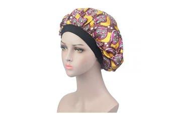(LH-01) - ASHILISIA Soft Satin Sleep Cap – Night Bonnet with Wide Elastic Band for Women