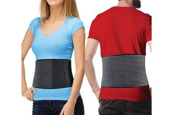 (S/M (60cm  - 90cm )) - Hernia Belt for Men and Women - Abdominal Binder for Umbilical Hernias & Navel Belly Button Hernias with Compression Pad for Hernia Support and Stomach Hernia Brace Pain Relief (Small/Med)