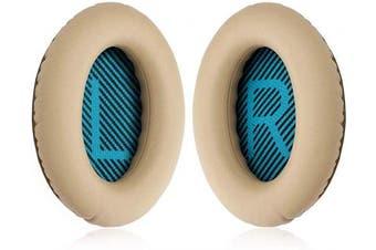 (Brown) - Replacement Ear Pad Cushion Memory Foam Ear Cup Repair for Bose Headphones Quiet Comfort 2 Qc2, Qc15, 25 Qc25, Ae2, Ae2I, Ae2W Headphone (Brown)