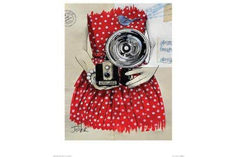 (40 x 50 x 1.3 cm) - Art Group The Loui Jover (Flash) -Art Print 40 x 50cm, Paper, Multicoloured, 40 x 50 x 1.3 cm