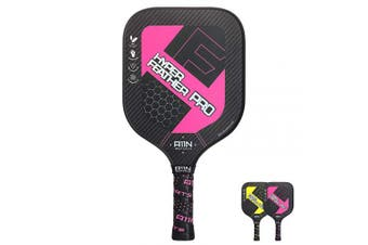 (Rose) - A11N HyperFeather Pro Pickleball Paddle, Upgraded Nomex Core and 3K Carbon Fibres Surface Racquet, with Water Decal Printing and Cushion Comfort Grip, Performs Well in Touch, Power and Control