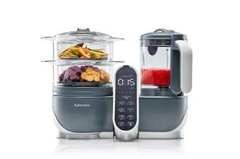(Duo Meal Station) - Duo Meal Station Food Maker | 6 in 1 Food Processor with Steam Cooker, Multi-Speed Blender, Baby Purees, Warmer, Defroster, Steriliser (2019 NEW VERSION)