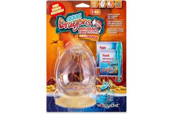 Aqua Dragons Jurassic Time Travel Eggspress