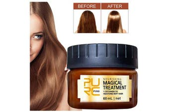 Magical Hair Treatment Mask, Advanced Molecular Hair Roots Treatment Professtional Hair Conditioner,5 Seconds Repairs Damage Hair Root Hair Deep Conditioner Suitable for Dry & Damaged Hair