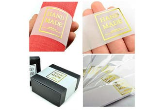 Chawoorim Natural Tracing Paper Labels Rectangle Homemade Soap Packaging Wrapping Material Jar jam Christmas Craft Hand Made Gifts