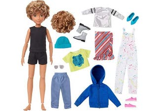 Creatable World GGG56 Deluxe Character Blonde Curly Hair