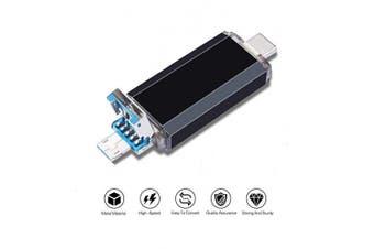 (Type-C 64GB-3.0, Type-C Black) - USB Flash Drive 64GB,USB 3.0 Type C Dual OTG Thumb Drive Memory Stick for USB-C Smartphones,Tablets,Huawei P20,LG G6(Not For Samsung)