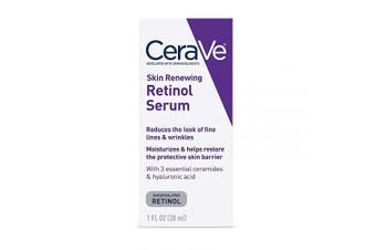 CeraVe Anti Ageing Retinol Serum for Face | 30ml | Cream Serum for Smoothing Fine Lines | Fragrance Free