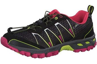 (4 UK, Black (Nero-rasperry-acido 56ae)) - CMP - F.lli Campagnolo Women's Altak Wmn Trail Shoe Running
