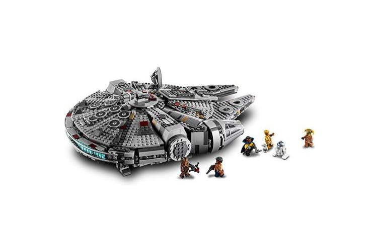Dick Smith Overbox Lego Star Wars The Rise Of Skywalker Millennium Falcon 75257 Starship Model Building Kit And Minifigures 1 351 Pieces Building Toys Blocks
