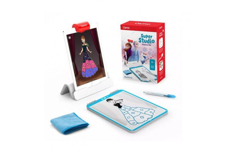 Osmo - Super Studio Disney Frozen 2 Game - Ages 5-11 - Learn to Draw Elsa, Anna, Olaf & More Favourites & Watch Them Come to Life - (for iPad & Fire Tablet Base Required)