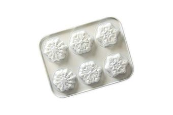(Snowy Day Formed Mini Cake Pan) - Nordic Ware 30003 Formed Mini Cake Pan, 2.5-Cups, White
