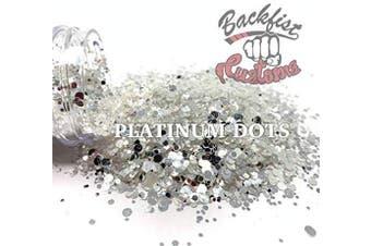 (Platinum Dots) - Backfist Customs Glitter LLC (Platinum Dots)