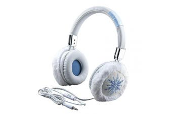 eKids Disney Frozen 2 Fashion Headphones with Built in Microphone, Adjustable Kids Headband for School Home or Travel, Compatible with Apple Samsung Tablets Computers, Stereo Sound