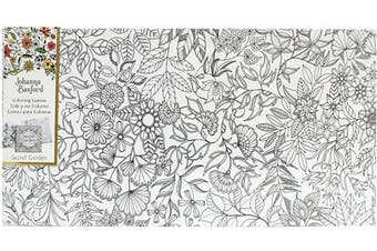 (Secret Garden - Floral Landscape) - Art Alternatives Johanna Basford Secret Garden Colouring Canvas Floral Landscape,