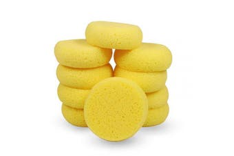 12Pcs of Synthetic Sponges, Round Watercolour Sponge for Artist Face Painting, Painting, Crafts, Pottery, Clay, Ceramics, Wall