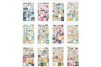 (Original Version) - Carpe Diem Planner Essentials Seasons Mini Sticker Tablet