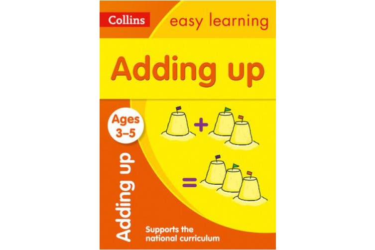 Adding Up Ages 3-5: Prepare for Preschool with easy home learning (Collins Easy Learning Preschool) (Collins Easy Learning Preschool)
