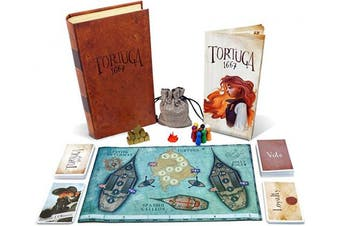 (Facade Games Tortuga 1667 Board Game - English) - Facade Games Tortuga 1667 Board Game-English, Multicoloured