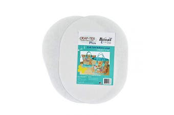 Bosal Craf-Tex Plus Stiff Non-Woven Double-Sided fusible 30cm Stabiliser, White