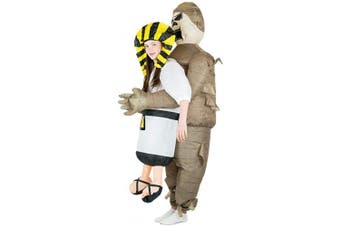 (Mummy) - Bodysocks Inflatable Mummy Lift You Up Costume (Kids)
