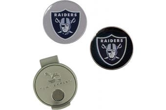 (Oakland Raiders) - NFL Hat Clip & 2 Ball Markers