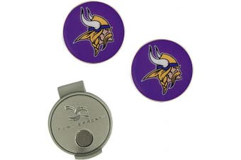 (Minnesota Vikings) - NFL Hat Clip & 2 Ball Markers