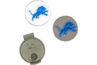 (Detroit Lions) - NFL Hat Clip & 2 Ball Markers