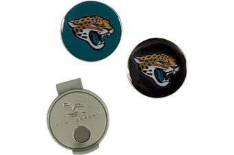 (Jacksonville Jaguars) - NFL Hat Clip & 2 Ball Markers