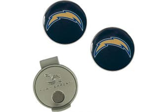 (Los Angeles Chargers) - NFL Hat Clip & 2 Ball Markers