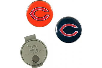 (Chicago Bears) - NFL Hat Clip & 2 Ball Markers