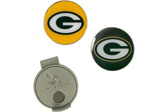 (Green Bay Packers) - NFL Hat Clip & 2 Ball Markers