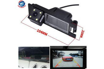 Auto Wayfeng WF® HD CCD Waterproof Car Camera Car Reversing Backup Rearview Rear View Camera with 4LEDs for Alfa Romeo 156 159 166 147 Brera Spider 05