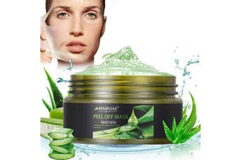 Blackhead Remover Mask, Blackhead Peel off Mask, Peel off Face Masks, Aloe Vera Extract Facial Mask- Anti-Ageing, Exfoliating Mask, Deep Cleansing Blackhead& Pore,Reduces Fine Lines& Wrinkles- 100ml