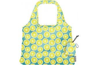 (Lemon) - ChicoBag Vita Designer Reusable Tote Bag