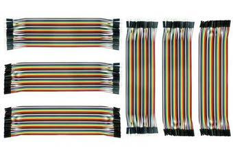 (240Pcs jumper) - DEYUE Jumper Wires Set - 240 PCs 3in1 breadboard Wires, Male to Male, Female to Male, Female to Female