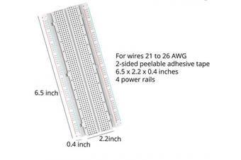 (3PCs 830 + 3PCs 400) - DEYUE breadboard Set Prototype Board - 3 PCS 400 Pin Plus 3 PCS 830 Pin Solderless Board Kit for Raspberry pi and Arduino Project