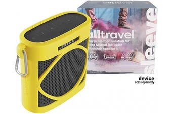 (Yellow Citrus) - Alltravel Silicon Cover for Bose SoundLink Colour Bluetooth Speaker II, Protective from Shock, Shake and Scratch, Customised Skin with Colour and Shape Matching, Easy to go Carabiner (Yellow Citrus)
