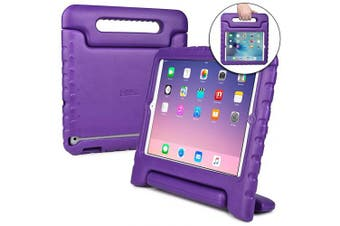(Purple) - Cooper Dynamo [Rugged Kids Case] Protective Case for iPad 4, iPad 3, iPad 2 | Protective Child Proof Cover, Stand, Handle, Screen Protector (Purple)