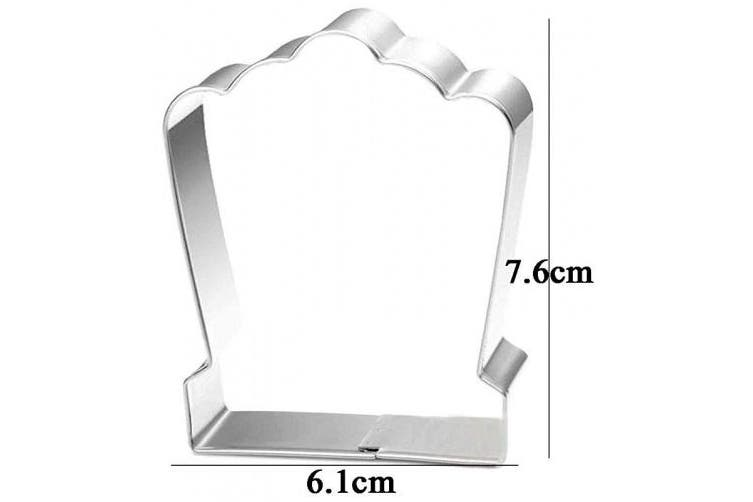 WDYJMALL Tombstone Cookie Cutter for Halloween
