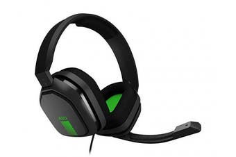 (Grey/Green) - ASTRO Gaming A10 Wired Headset Compatible with Xbox One, PlayStation 4, PC, Mac, Black/Green