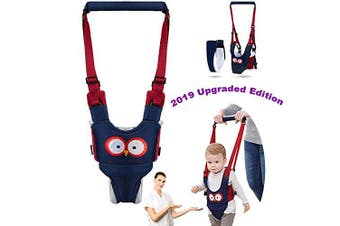 (Thickened Cotton Type) - Autbye Baby Walker Toddler Walking Assistant Handheld Stand Up and Walking Learning Leash Kids Safety Walking Harness Safety Belt for Baby 6-36 Months (Thickened Cotton Type)