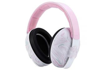 (Pink) - Mumba Baby Ear Protection - Adjustable Noise Cancelling Baby Headphones(0-3+ Years) - Baby Ear Muffs Noise Protection, for Sleeping, Aeroplane, Football Game, Concerts, Fireworks, Theatre, Parade