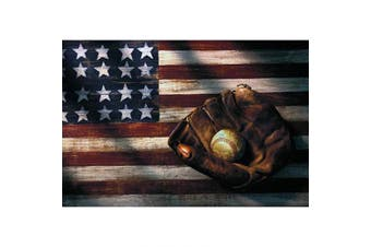 (40cm  x 30cm , Style3) - 5D Diamond Painting Kits for Adults Kids, DIY Round Flag and Baseball Full Drill Rhinestone Art Craft for Home Wall Deco, 40cm x 30cm by Cenda