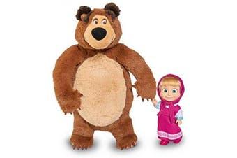 Masha and the Bear Masha Doll 12cm and Bear 25cm, Nylon/A