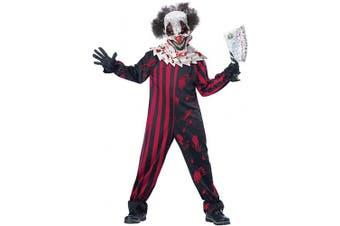 (Medium) - Child Killer Klown Costume Age MEDIUM