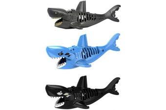 Auch 3Pcs Shark Building Bricks Shark Action Figure