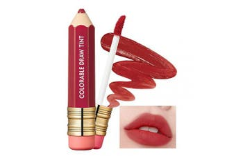 (08 Rosy Mocha) - It'S SKIN Colorable Draw Tint 3.3g 10 Colours - Cute Crayon Velvety Lip Tint Lipstick with Matte Finish, Air Light Formula with Long Lasting Intense and Vibrant Colour (08 Rosy Mocha)
